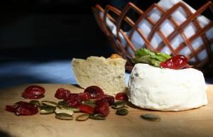 Domácí kozí sýr