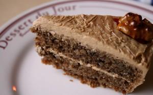 Ořechovo kávový dortík