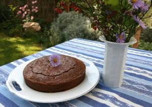 Čokoládový koláč.