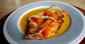 Palačinky s pomerančovým karamelem