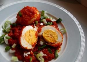 Indonéská pálivá vejce
