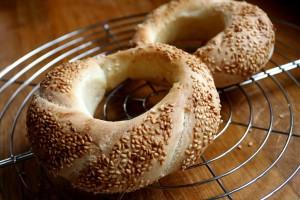 Simit turecký chléb