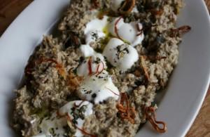Halim bademjan - perská lilková pasta