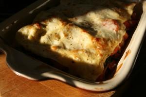 Lasagne dyne jehneci