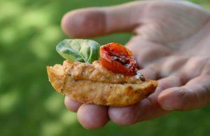 Pomazánka z pečených rajčat