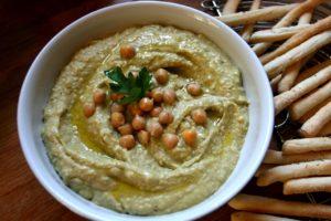 Hummus s avokádem