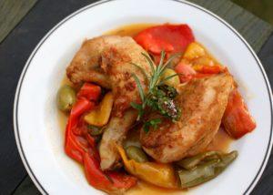 Kuře po římsku