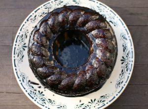 Brazilský mrkvový koláč