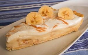 Bananovy kremovy kolac