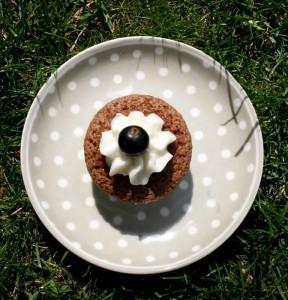 Čokoladové minicupcakes