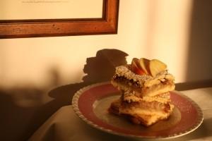 Hruškový koláč s anýzem