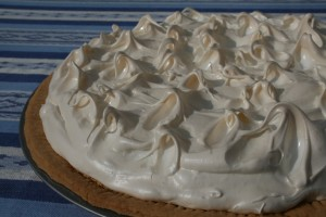 Alsaský koláč s rebarborou a pusinkou
