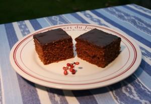 Tradiční čokoládová buchta