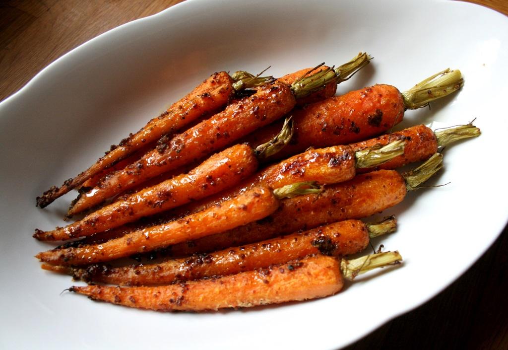 Pečená kořeněná mrkev