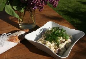salát s bílým chřestem