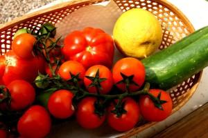 Tarte tatin se zázvorem, tymiánem a rajčaty