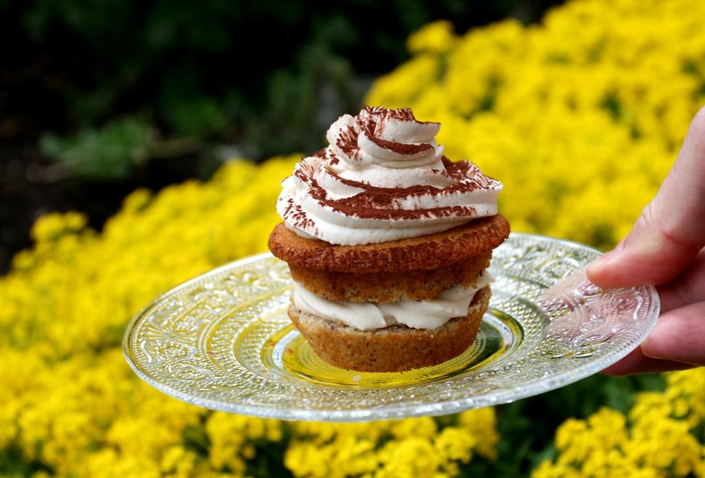 Muffiny ve stylu tiramisu