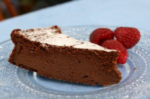 Čokoládový koláč s ricottou