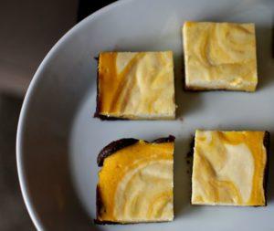 Cheesecake brownie s dýní