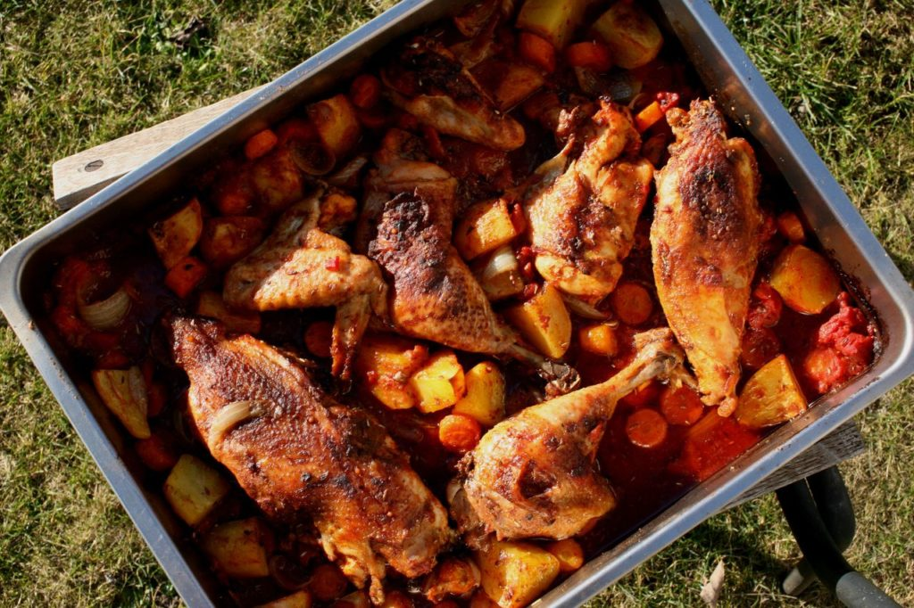 Kuře na berberský způsob