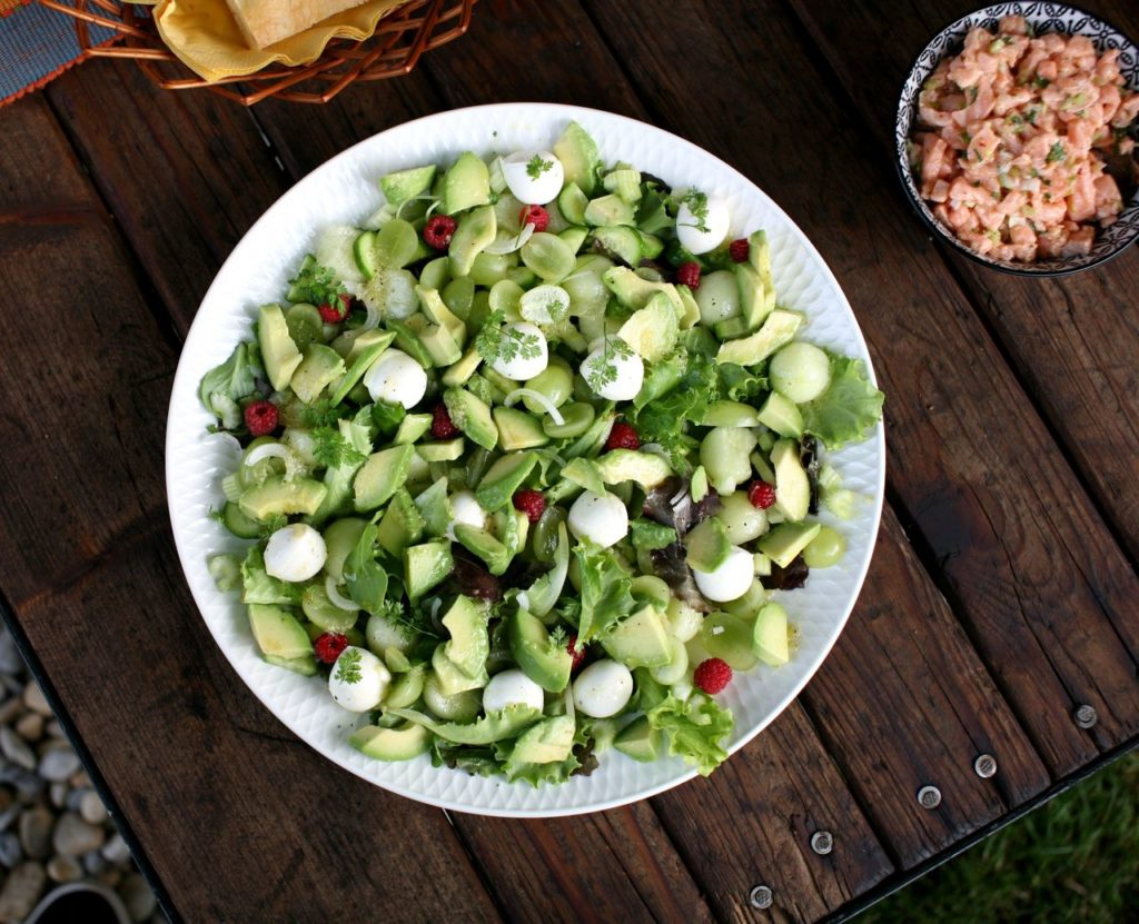 Salát s melounem